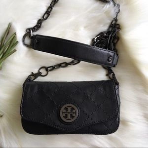 🖤 Tory Burch Quilted Leather Crossbody Bag